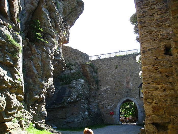 Развалины замка Аггштайн у вод Дуная 31238