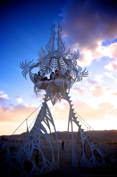 Лучшие фото фестиваля Burning Man 2012 20 (464x700, 287Kb)