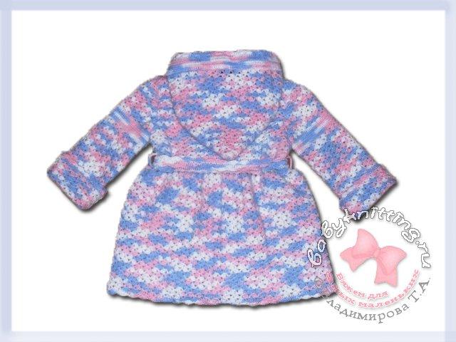 Пальто для девочки 2 лет