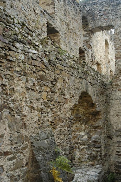 Развалины замка Аггштайн у вод Дуная 75665