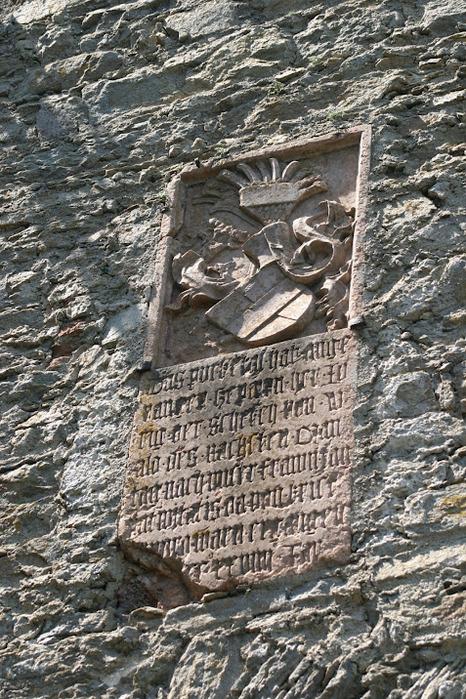 Развалины замка Аггштайн у вод Дуная 85450