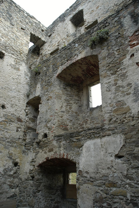 Развалины замка Аггштайн у вод Дуная 14933