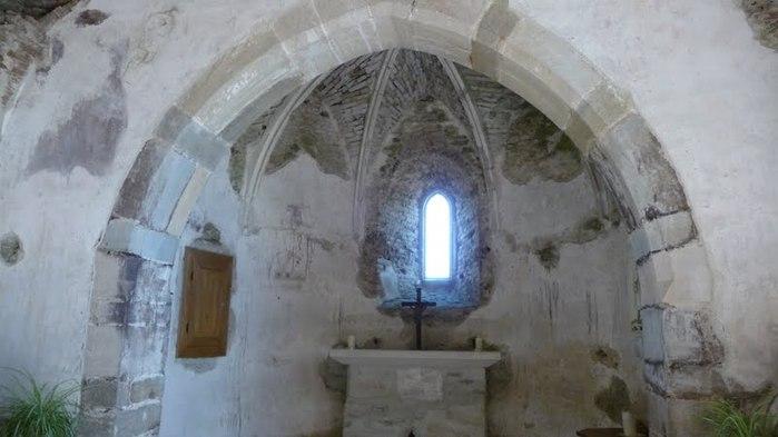 Развалины замка Аггштайн у вод Дуная 93813