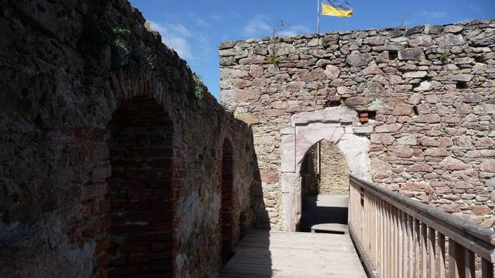 Развалины замка Аггштайн у вод Дуная 28595