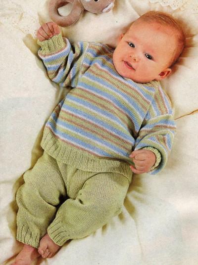Что связать для ребенка 6 месяцев