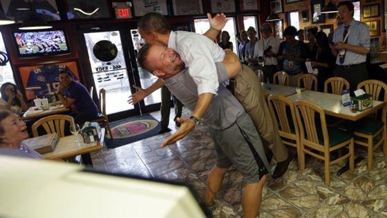 Владелец пиццерии поднял Обаму