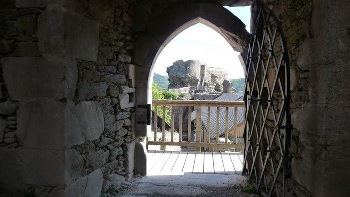 Развалины замка Аггштайн у вод Дуная 36016