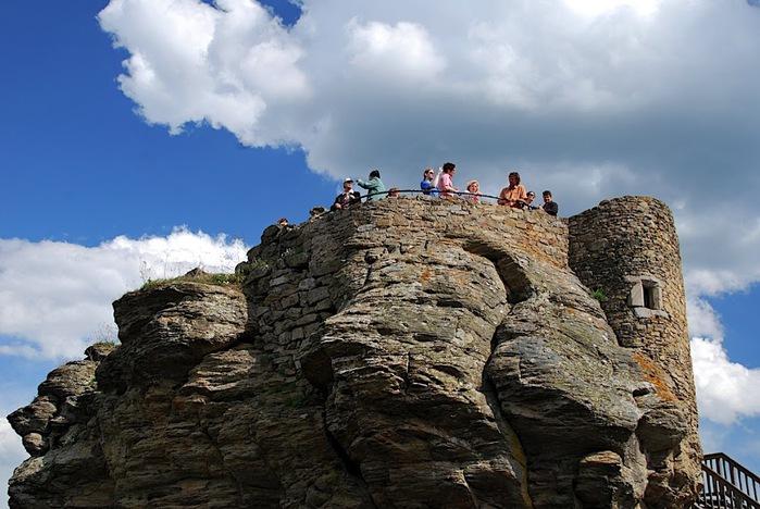 Развалины замка Аггштайн у вод Дуная 89129