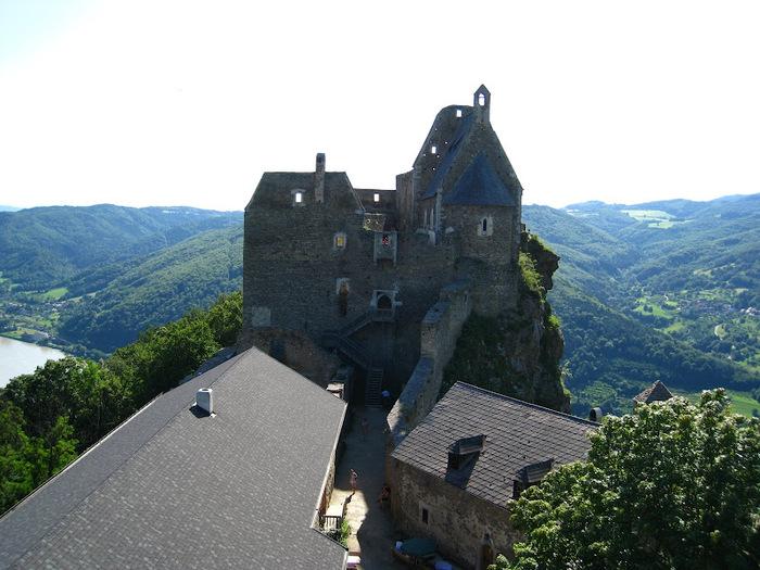 Развалины замка Аггштайн у вод Дуная 86274