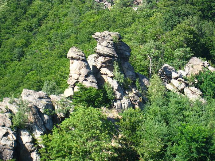 Развалины замка Аггштайн у вод Дуная 94877