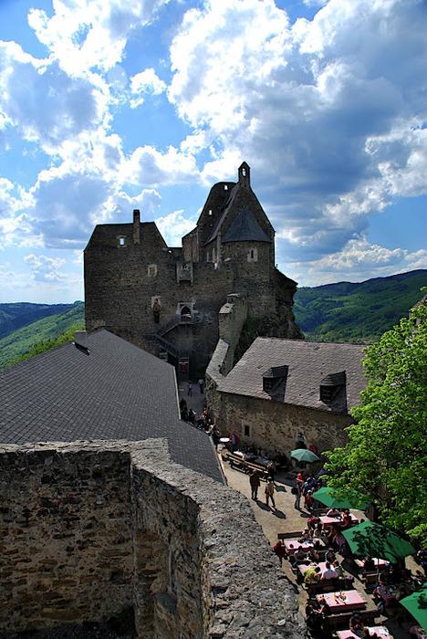 Развалины замка Аггштайн у вод Дуная 51237
