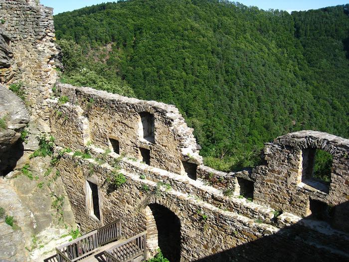 Развалины замка Аггштайн у вод Дуная 71162