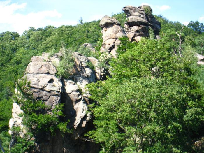 Развалины замка Аггштайн у вод Дуная 25827