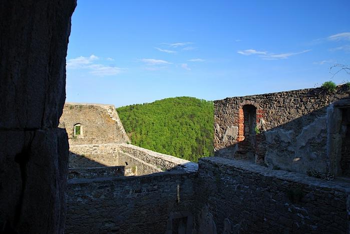 Развалины замка Аггштайн у вод Дуная 44594