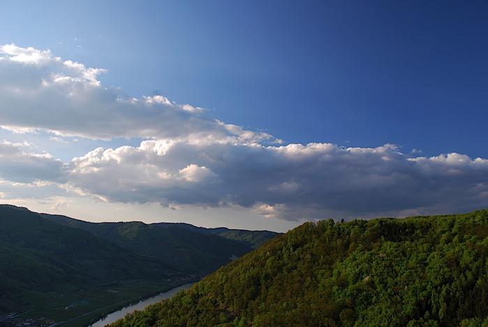 Развалины замка Аггштайн у вод Дуная 53658