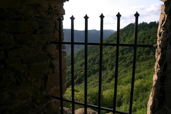 Развалины замка Аггштайн у вод Дуная 65759