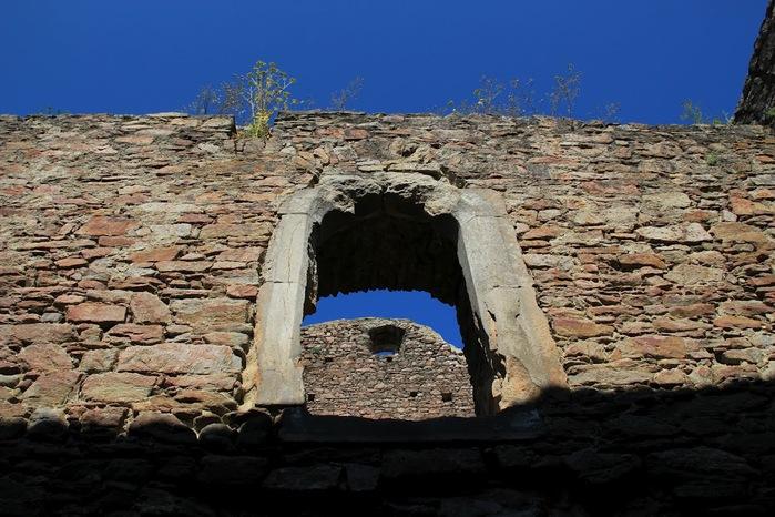 Развалины замка Аггштайн у вод Дуная 66406