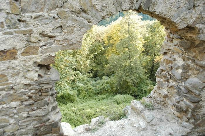 Развалины замка Аггштайн у вод Дуная 97278