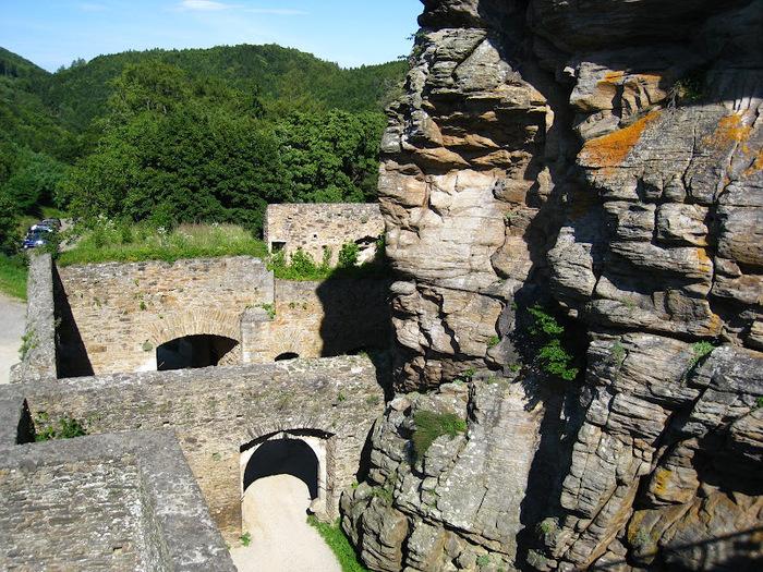 Развалины замка Аггштайн у вод Дуная 18254