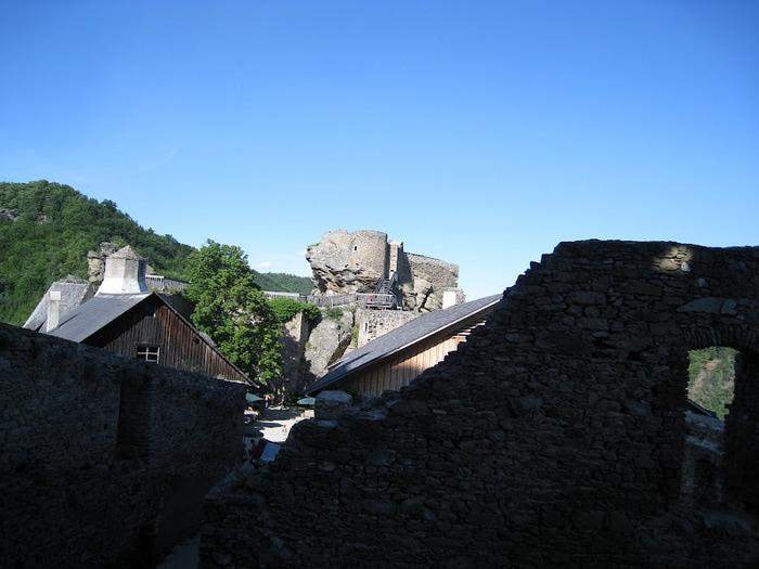 Развалины замка Аггштайн у вод Дуная 89848