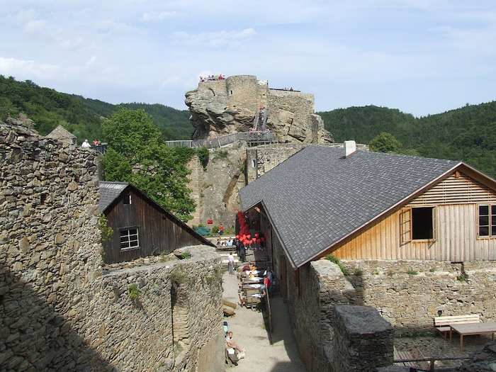 Развалины замка Аггштайн у вод Дуная 39848