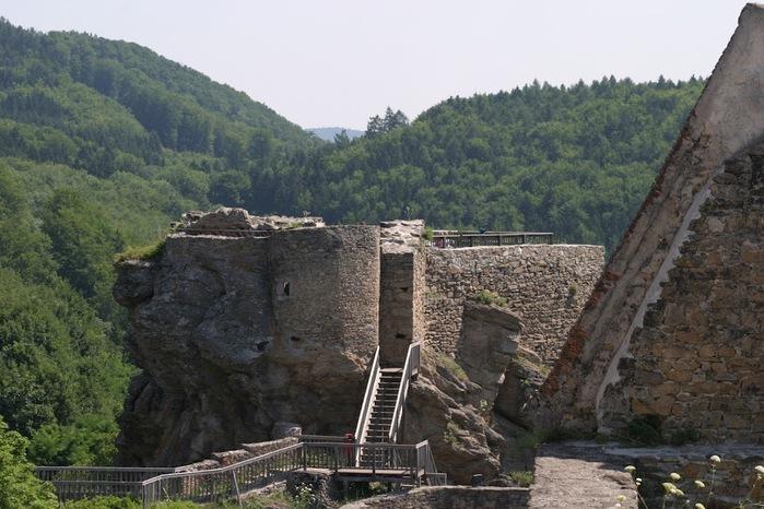 Развалины замка Аггштайн у вод Дуная 84847