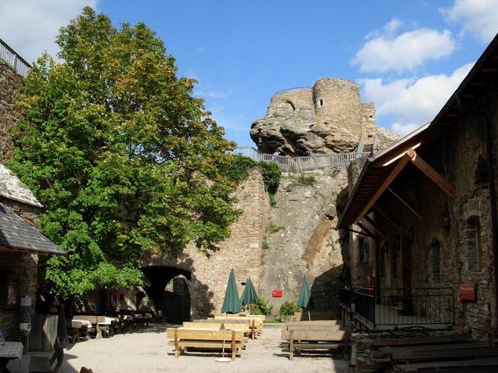 Развалины замка Аггштайн у вод Дуная 28468