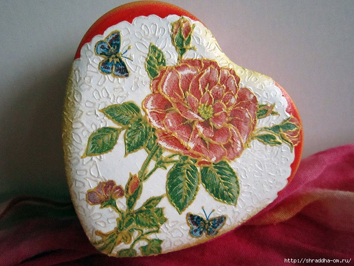 коробочка сердечко hand made, автор Shraddha, 1 (700x525, 290Kb)