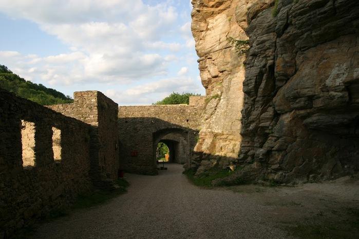 Развалины замка Аггштайн у вод Дуная 56818
