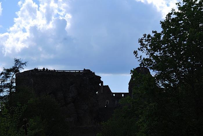 Развалины замка Аггштайн у вод Дуная 71603