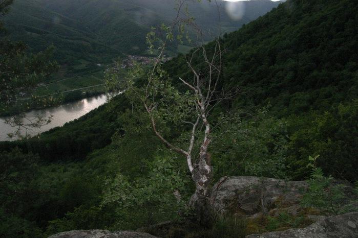 Развалины замка Аггштайн у вод Дуная 78673