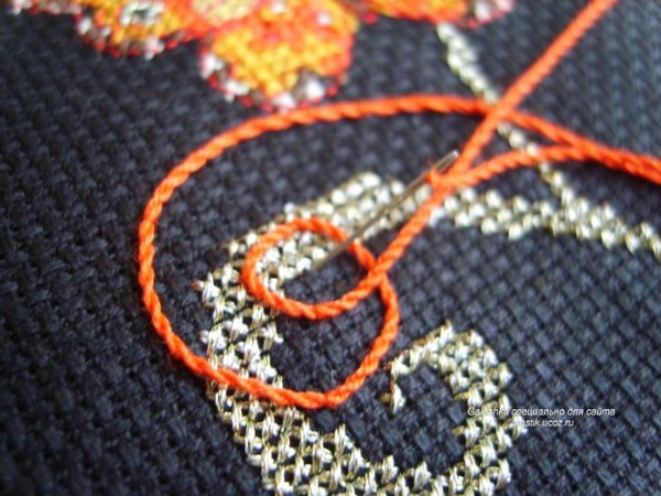 Кординг вышивка как делать 24