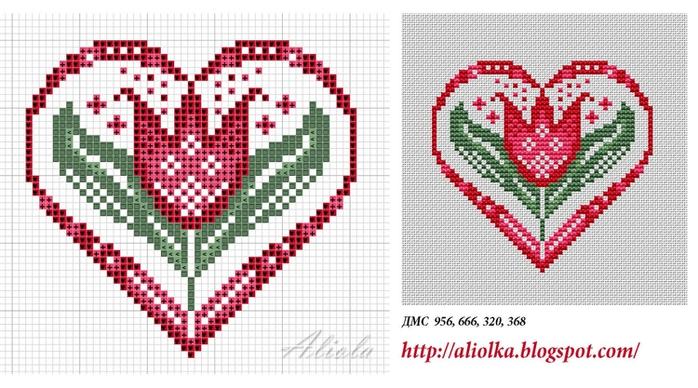 тюльпан в сердце (700x388, 230Kb)