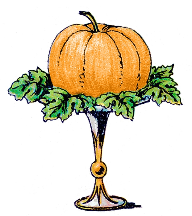 pumpkin vintage image--graphicsfairy003b (622x700, 182Kb)