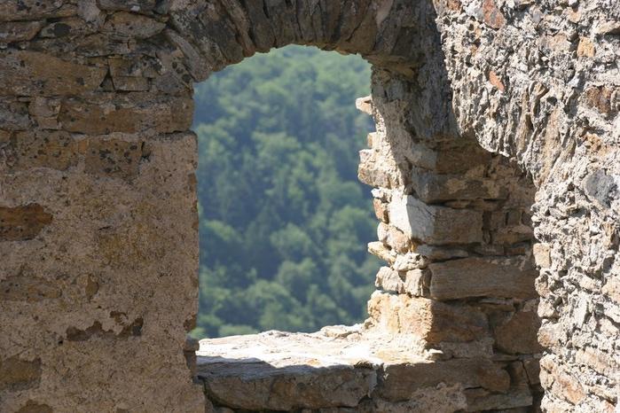 Развалины замка Аггштайн у вод Дуная 24145