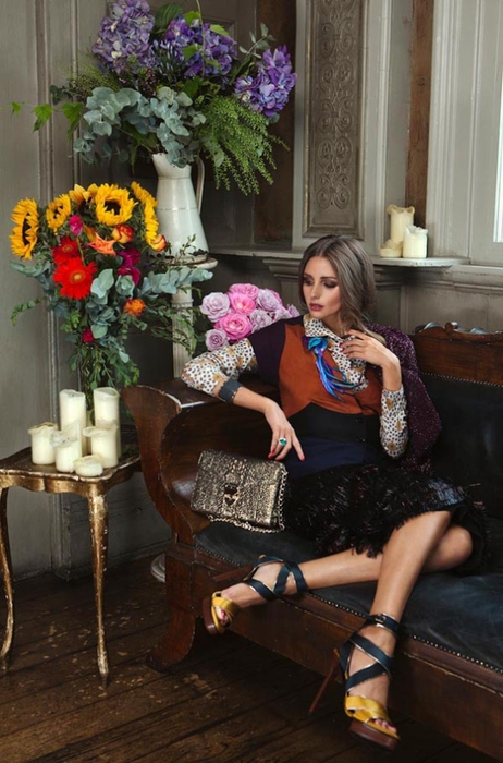 Olivia Palermo модная фотосессия (462x700, 245Kb)