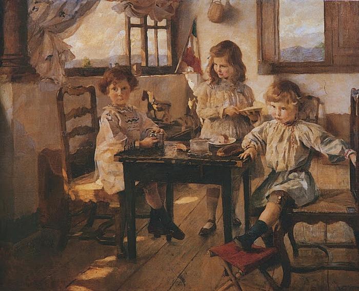 I_bambini_Rucellai_1903-Ettore_Tito (700x568, 343Kb)