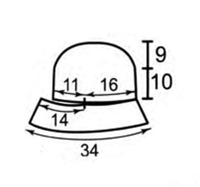 вяжем шапку с отворотом. шапки для женщин с маленьким лицом.