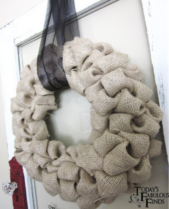 Burlap Wreath (338x416, 247Kb)