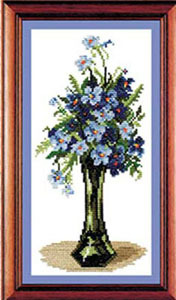 ЗР Полевые цветы-001 Букет незабудок (176x300, 42Kb)