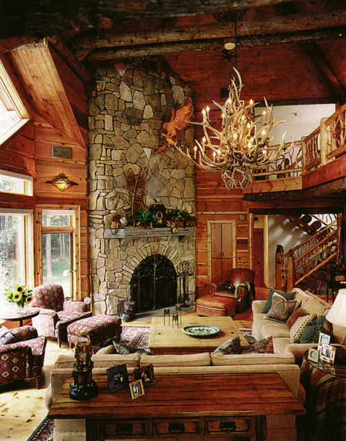 дом в лесу (500x636, 1073Kb)