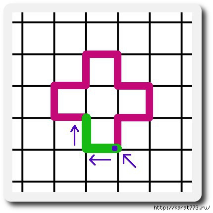 俄 网 的 钩针 基础 教程 (十七): 最 原始 的 钩针 垫 (大师 班) - maomao - 我 随心 动
