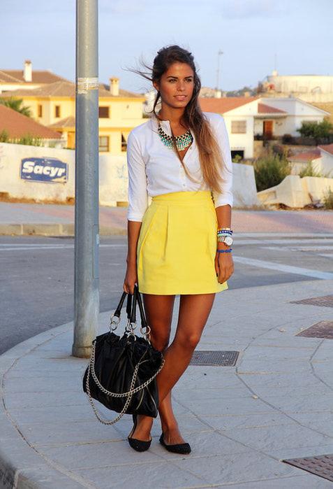 модные юбки 2013 фото