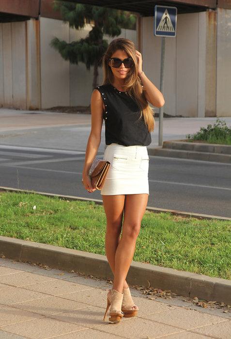 фото модные стильные юбки 2013