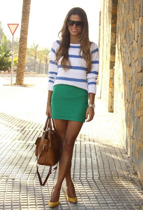 фото модные юбки 2013