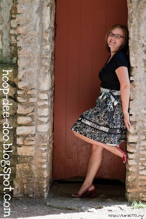 Отделка юбки