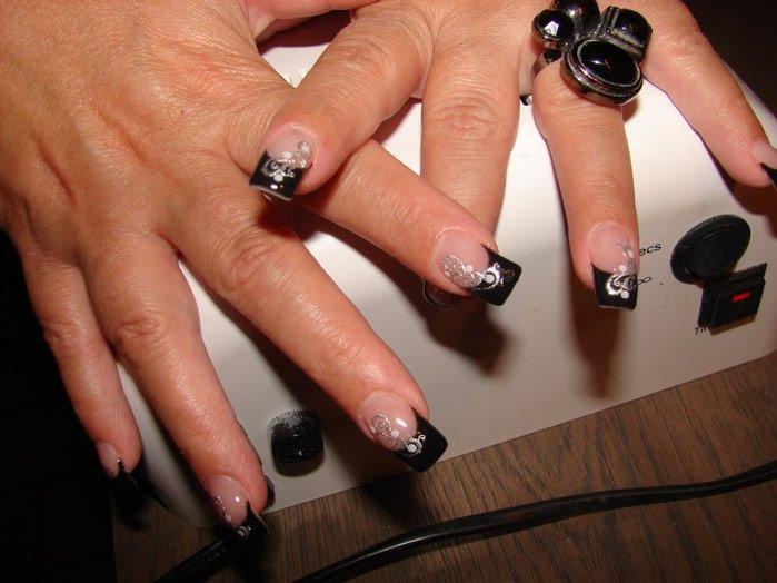 модный дизайн ногтей фото:
