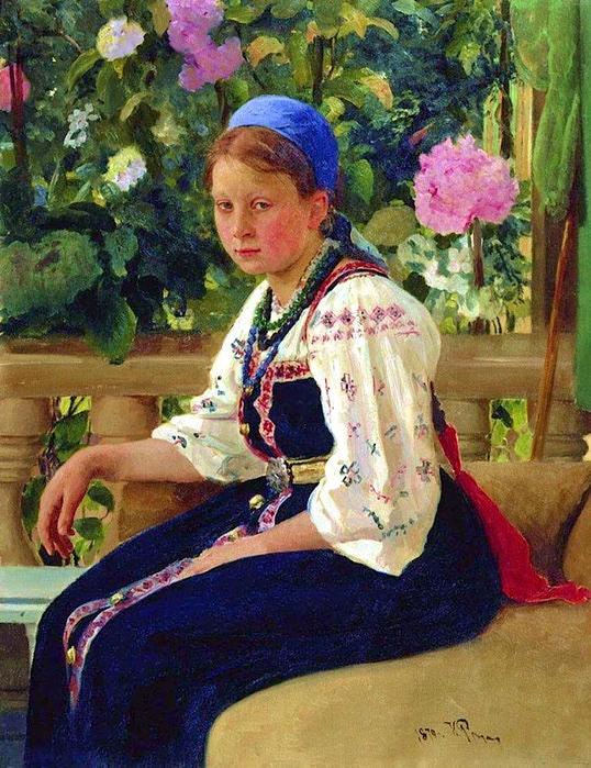 Repin-Portrait of S.F. Mamontova. 1879 (538x700, 265Kb)