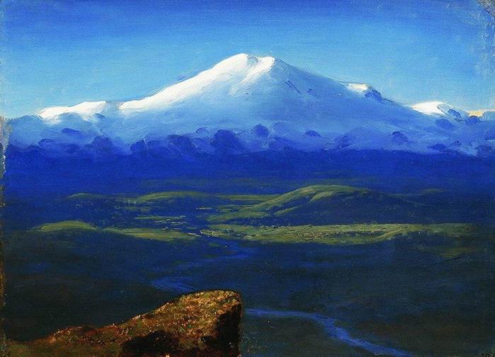 Снежные вершины. 1890-1895 (700x505, 111Kb)