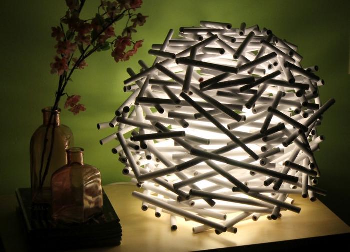 Идея светильника своими руками
